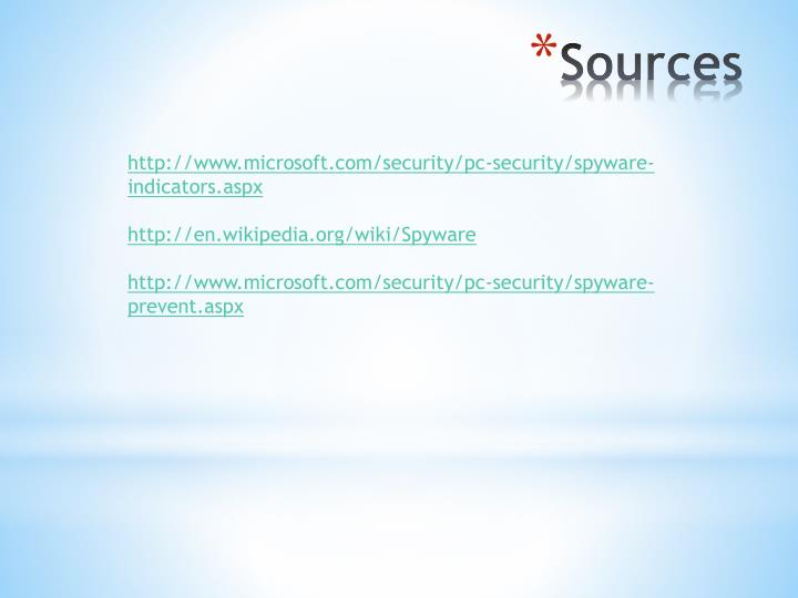 http://www.microsoft.com/security/pc-security/spyware-indicators.aspx