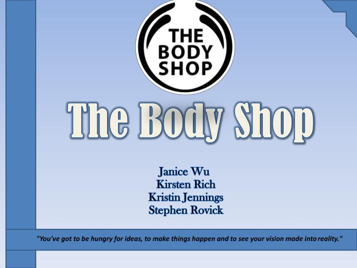 the body shop political power Definition of body politic: in a rather loose way, to designate the state or nation or sovereign power what is body politic.