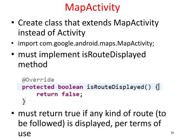 MapActivity