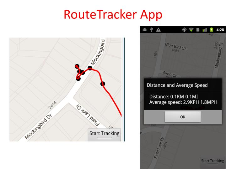 RouteTracker