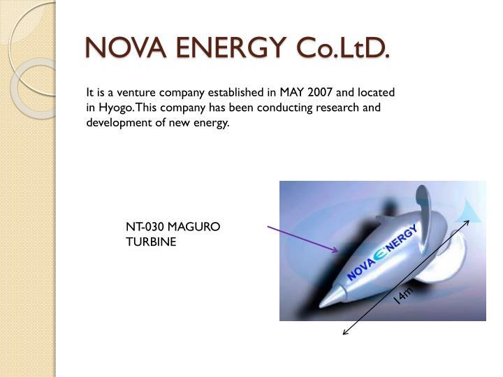 NOVA ENERGY