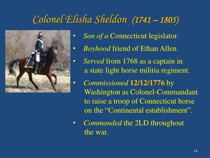 Colonel Elisha Sheldon