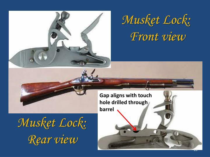 Musket Lock: