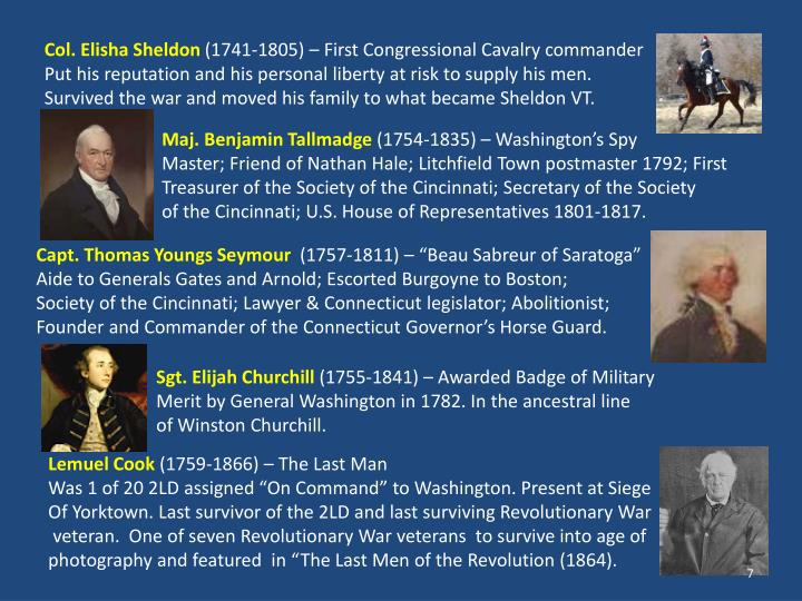 Col. Elisha Sheldon