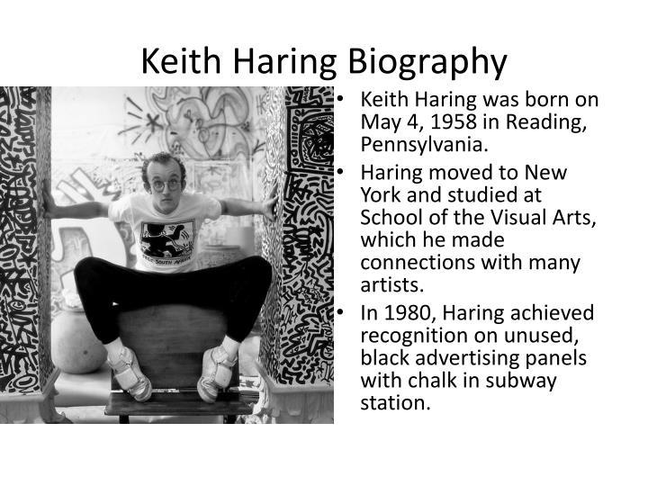 Keith Haring Biography