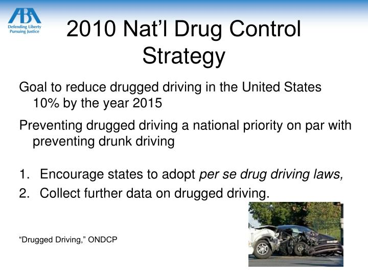 2010 Nat'l Drug Control Strategy