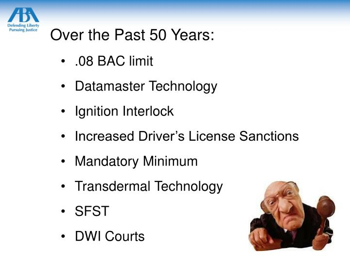 Over the Past 50 Years: