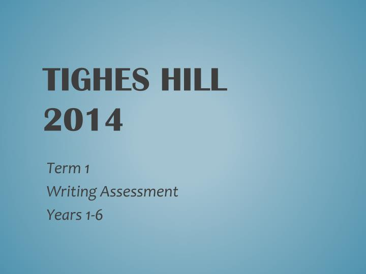 Tighes hill 2014