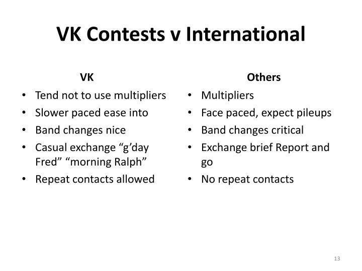 VK Contests v International