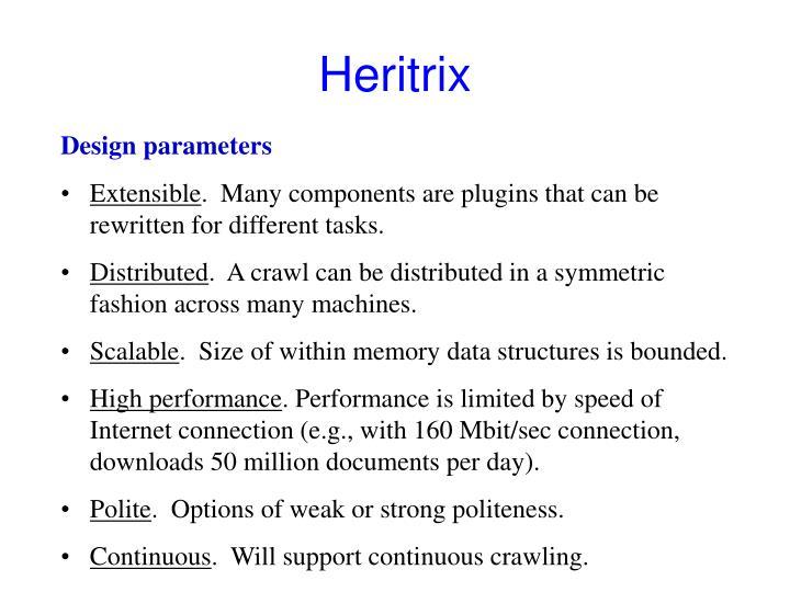 Heritrix
