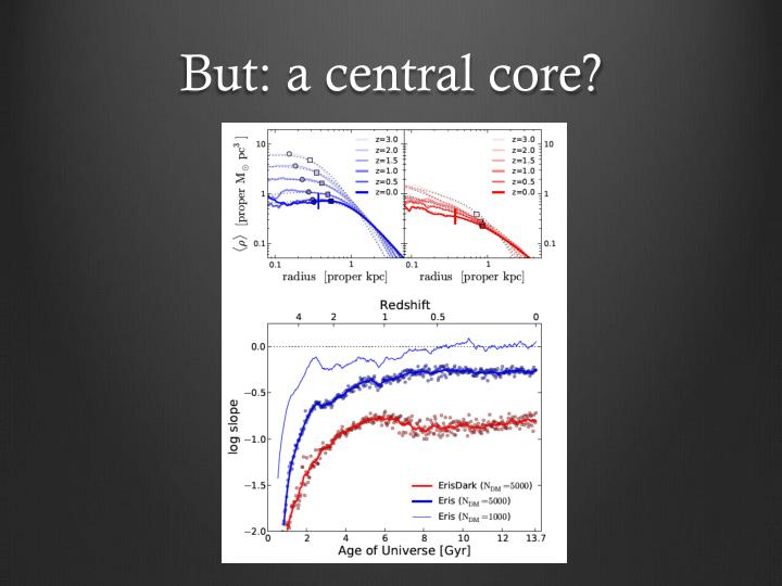 But: a central core?