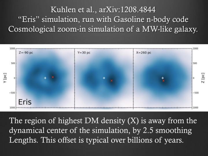 Kuhlen et al., arXiv:1208.4844