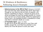 iv kindness gentleness following jesus s example