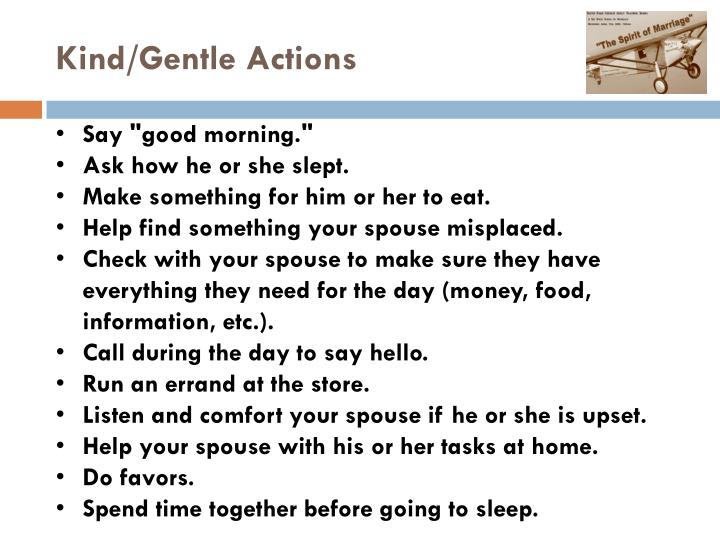Kind/Gentle