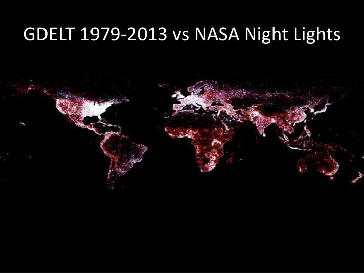 GDELT 1979-2013