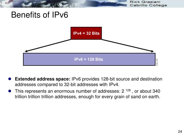 Benefits of IPv6
