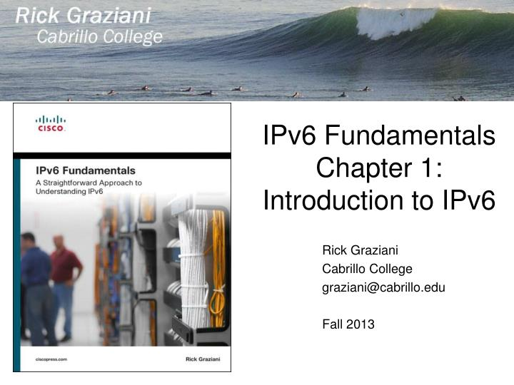 Ipv6 fundamentals chapter 1 introduction to ipv6
