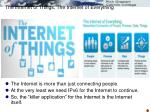 the internet of things the internet of everything