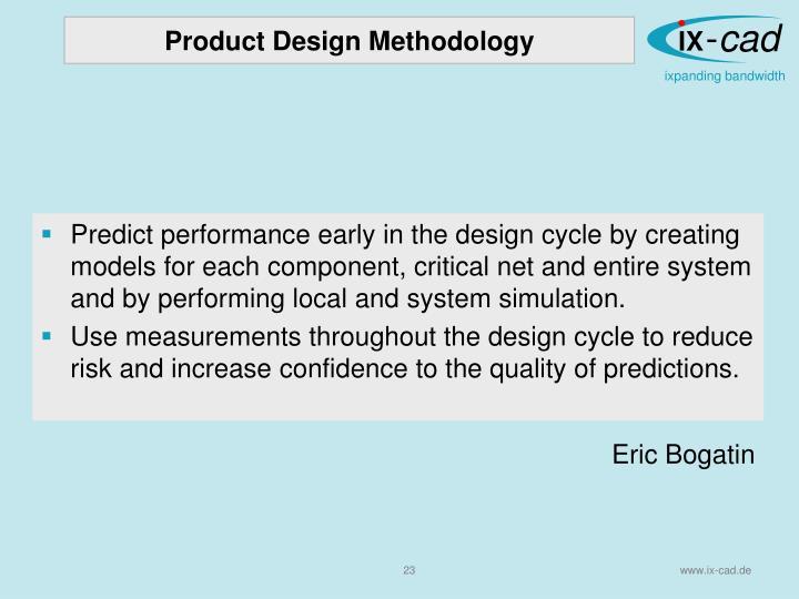 Product Design Methodology