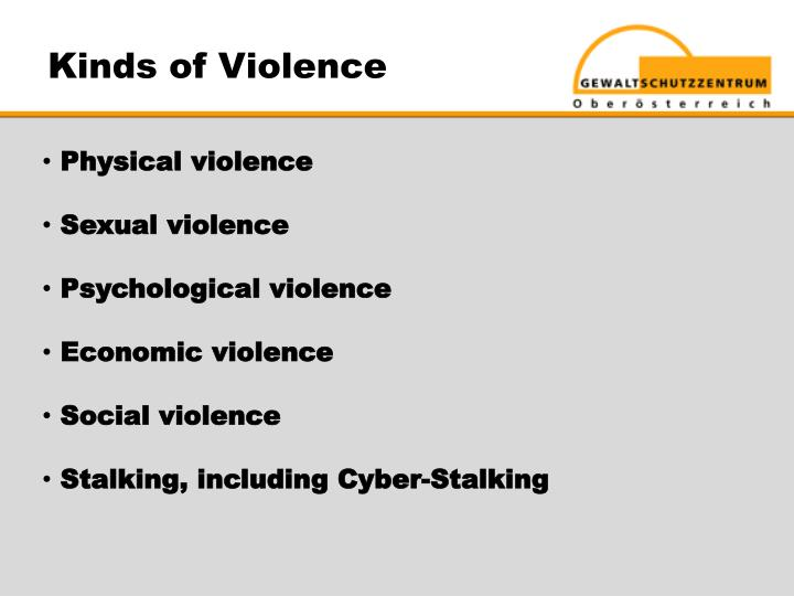 Kinds of Violence