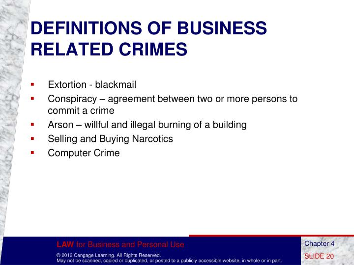 crime and law relationship marketing