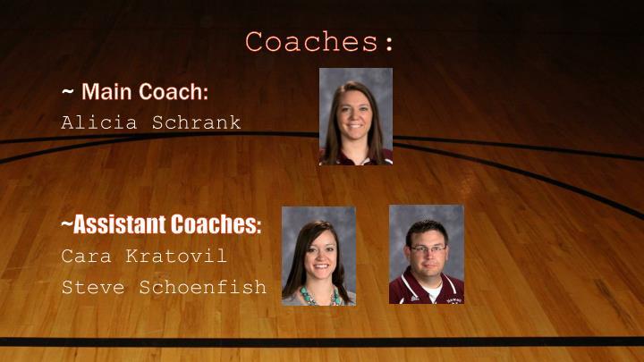 Coaches: