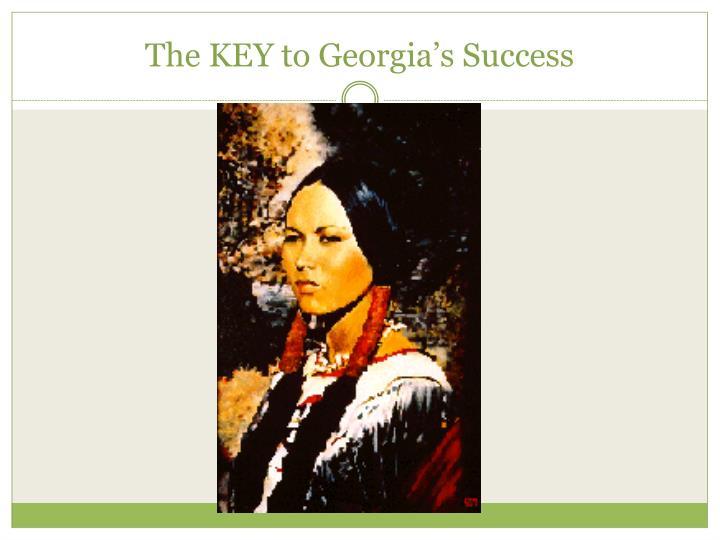 The KEY to Georgia's Success