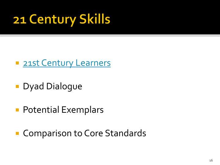 21 Century Skills