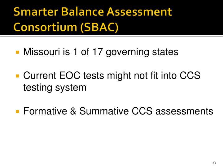 Smarter Balance Assessment Consortium (SBAC)