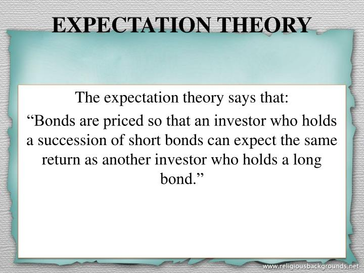 EXPECTATION THEORY