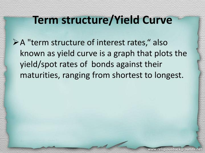 Term structure/Yield Curve