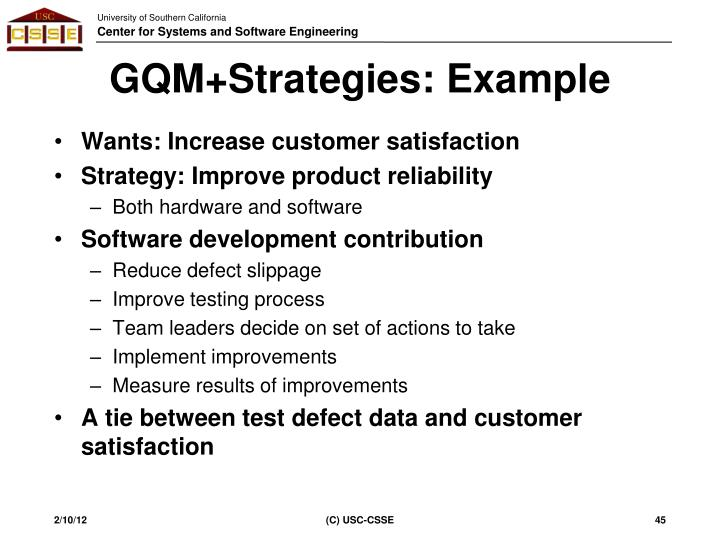 GQM+Strategies