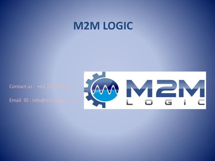 M2M LOGIC