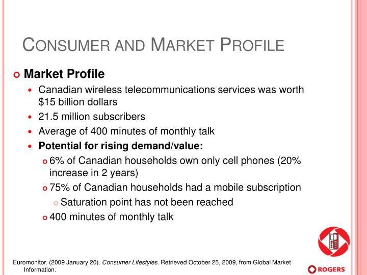 Consumer and Market Profile