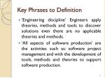 key phrases to definition
