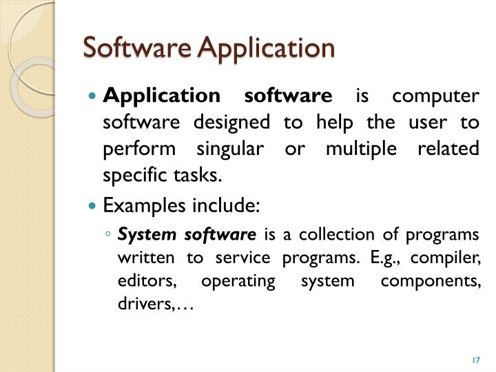 Software Application