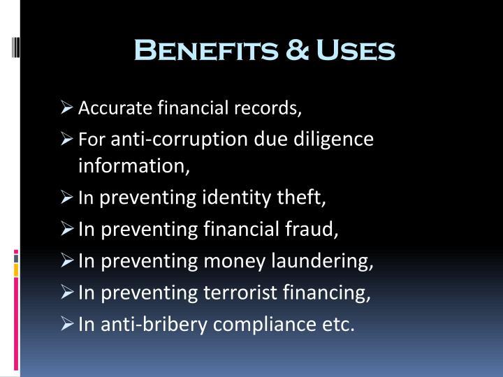 Benefits &