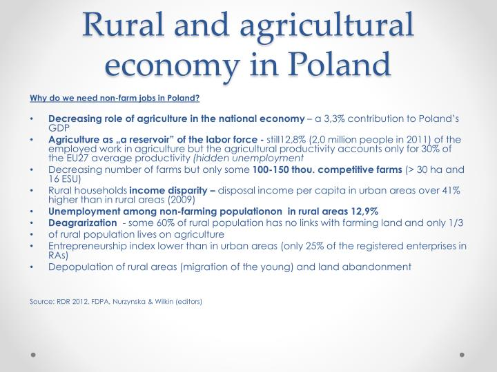 Rural and agricultural economy in poland