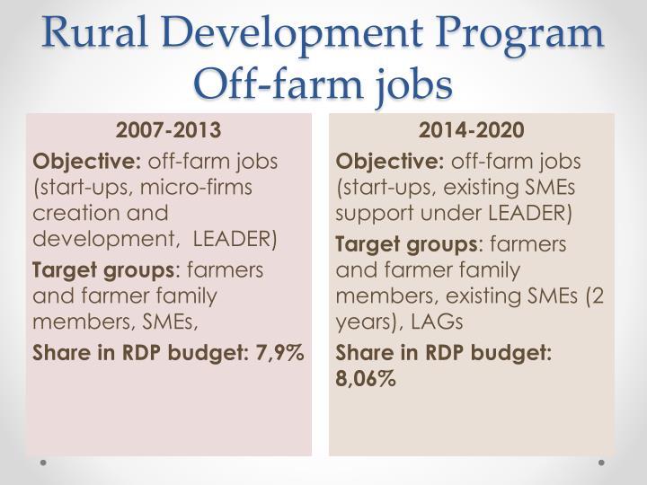 Rural Development Program