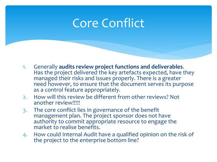 Core Conflict