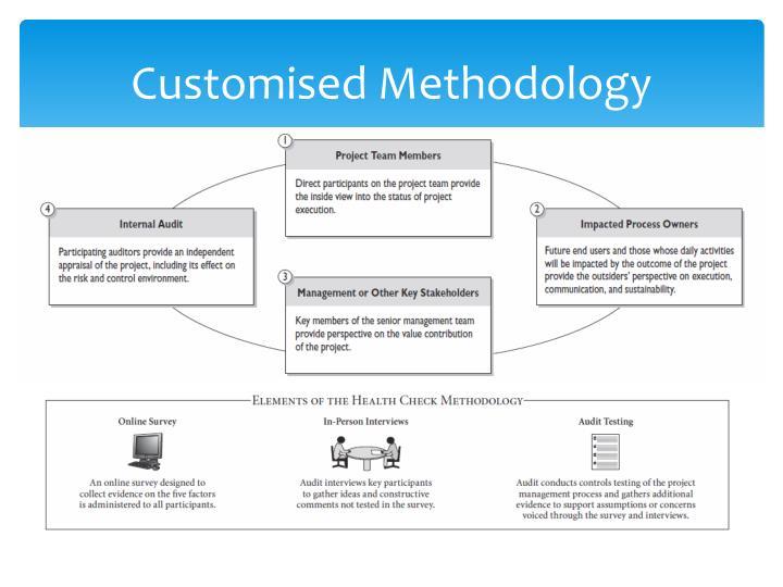 Customised Methodology