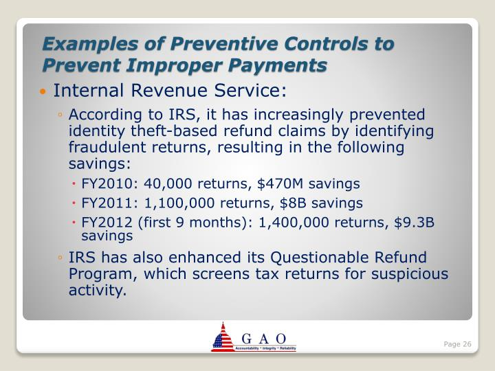 Internal Revenue Service:
