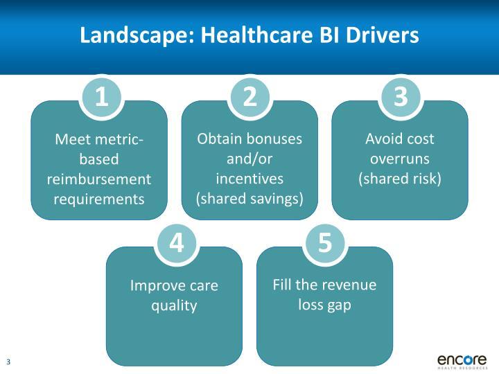 Landscape: Healthcare