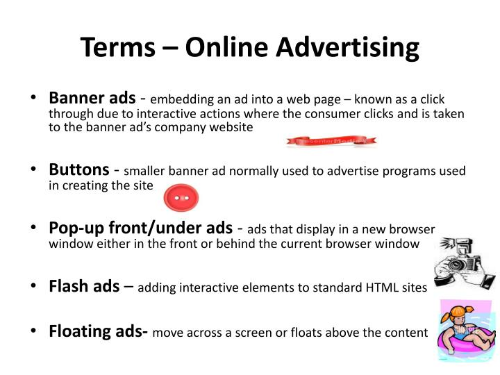 Terms online advertising