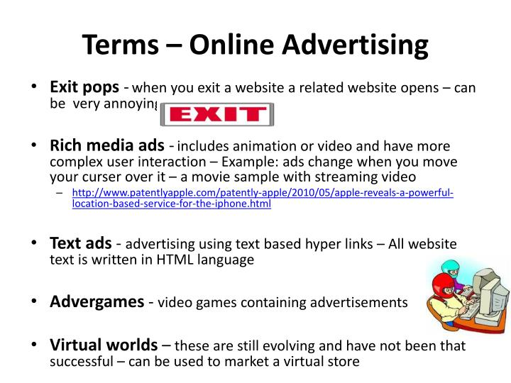 Terms online advertising1
