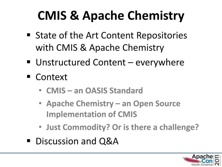 CMIS & Apache Chemistry