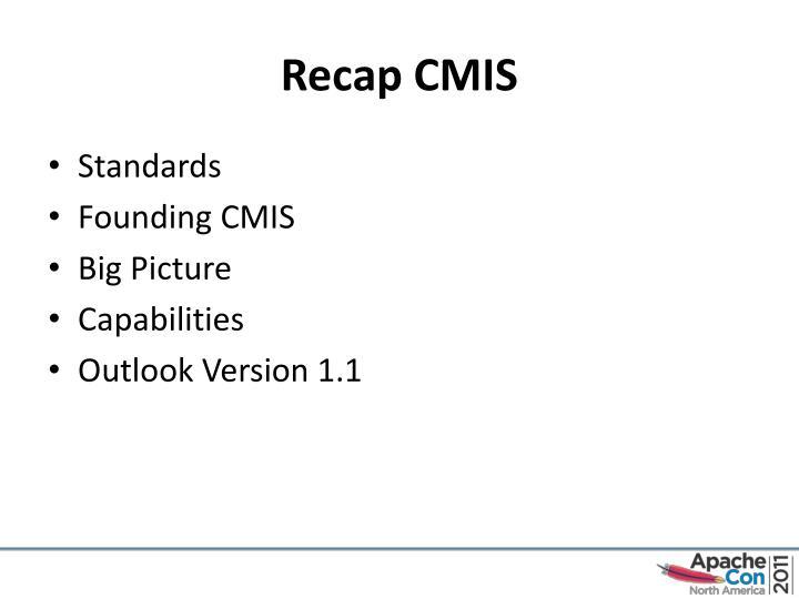 Recap CMIS
