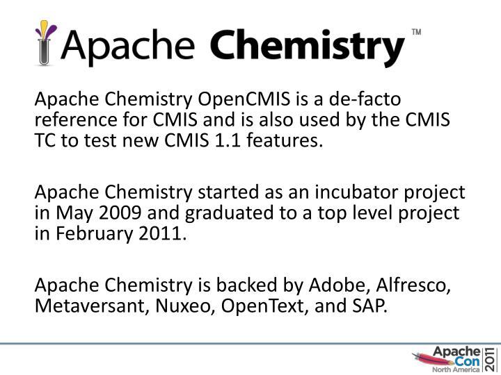 Apache Chemistry