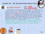 chapter 19 mr edwards meets s anta claus