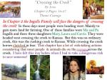 crossing the creek by icina chapter 2 pages 16 27 theme courage